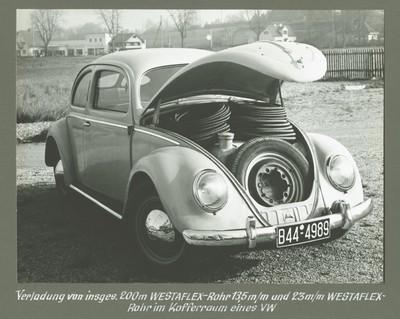 VW Käfer Verrohrung